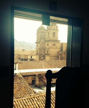 Casa Andina Classic Cusco Plaza: view from breakfast room