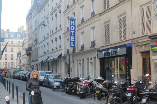 Hotel Mary's République: esterno hotel