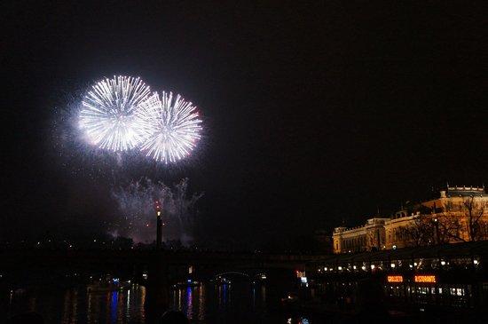 Pension Corto : Fireworks in Prague 2014