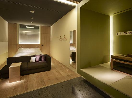 Hotel Kanra Kyoto : ダブルルーム