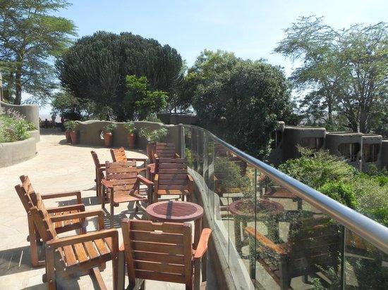 Mara Serena Safari Lodge : Brilliant view of the Mara from the hotel