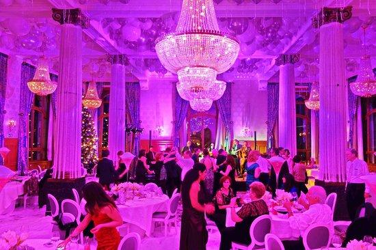 Grand Hotel Les Trois Rois: Les Trois Rois- Ballsaal Neujahrsparty