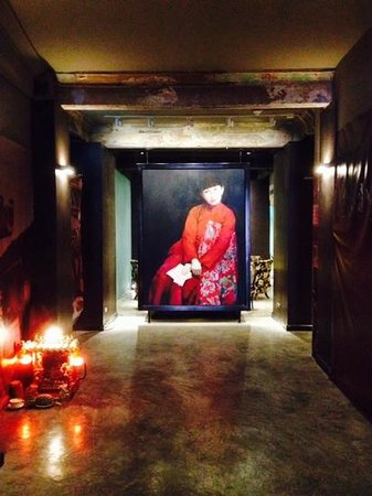 Shanghai Mansion Bangkok : entree van het hotel