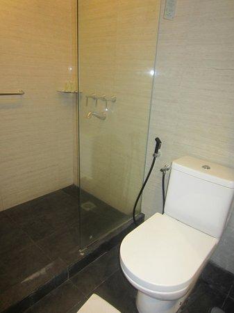 Hotel Santika Mataram: bathroom was okay