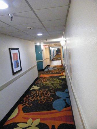 La Quinta Inn & Suites San Diego Mission Bay: hallway