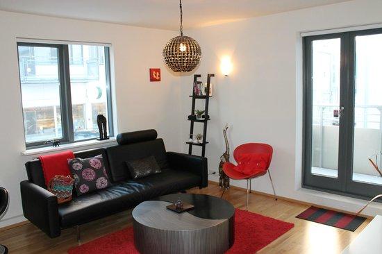 Reykjavik4you Apartments Hotel: Living room