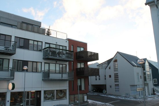 Reykjavik4you Apartments Hotel : view from outside