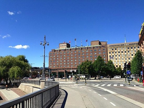 Sheraton Stockholm Hotel: Hotelfront