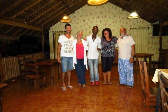 Hotel Kintana Resort & Spa: Noi con Ilyasse