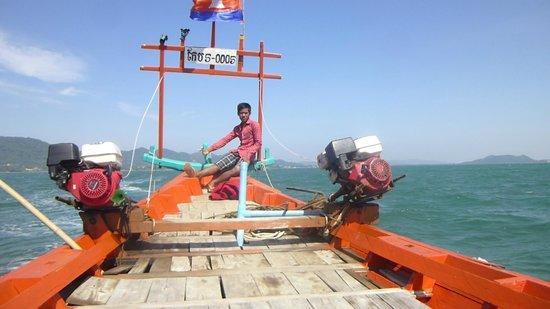 Koh Tonsay (Rabbit Island): On the way to Rabbit island
