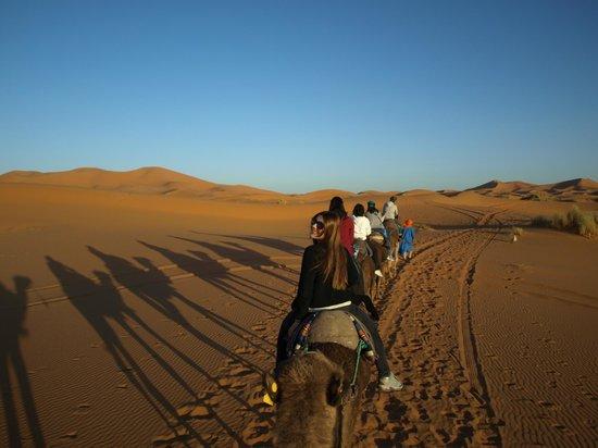 Palais des dunes: Viaje de vuelta al albergue