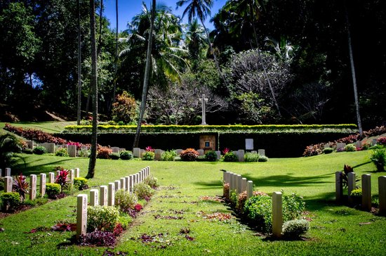 Commonwealth War Cemetery: War Cemetery at Kandy