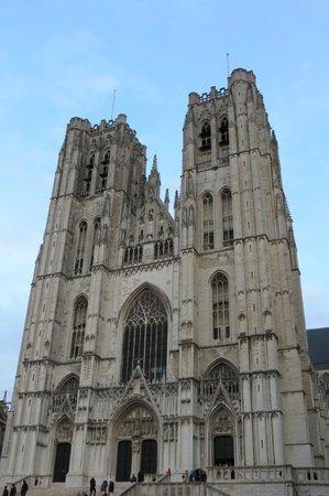 Cathédrale Saints-Michel-et-Gudule de Bruxelles : cathédrale Bruxelles