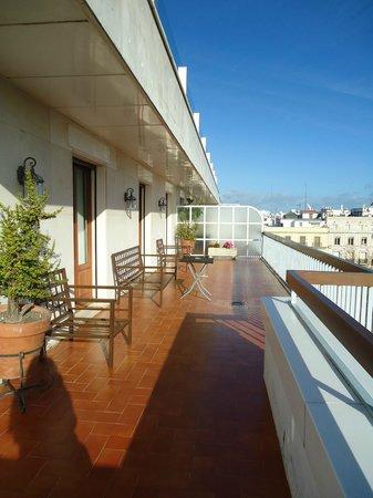 Hotel Inglaterra : Balcón