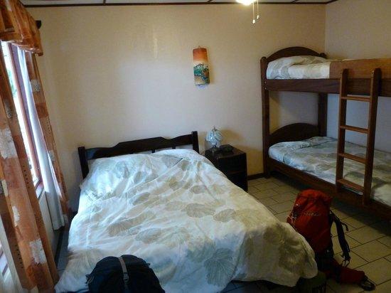 Hotel La Rosa de America: Chambre