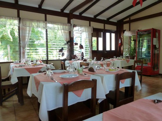 Hotel La Rosa de America: Restaurant