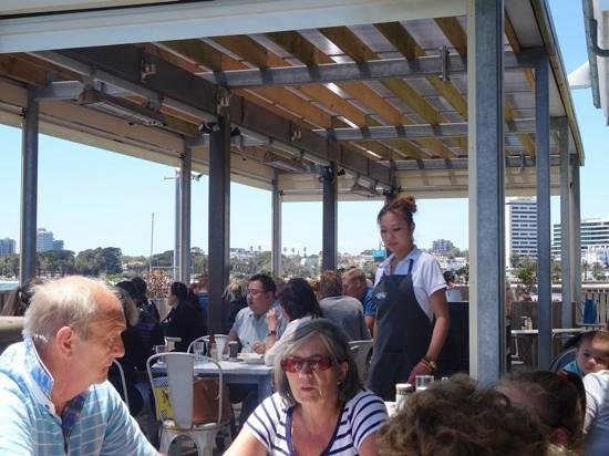 Little Blue Restaurant: A warm and busy day at Little Blue