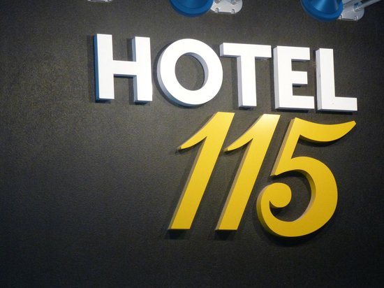 Hotel 115 Christchurch: Hotel 115 at 115 Worcester Street: simple name but very clear