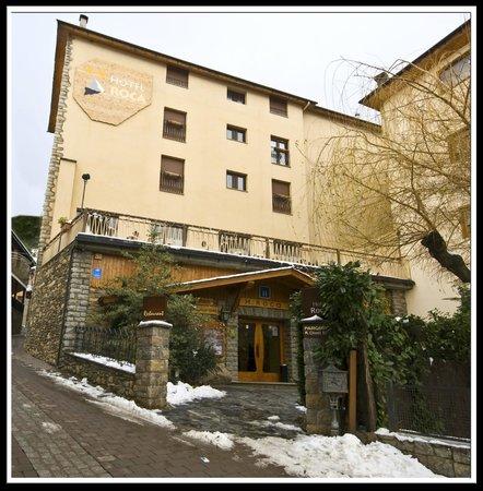 Fachada Hotel Roca