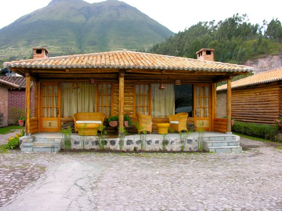 Hosteria Cabanas del Lago: cabana we stayed......