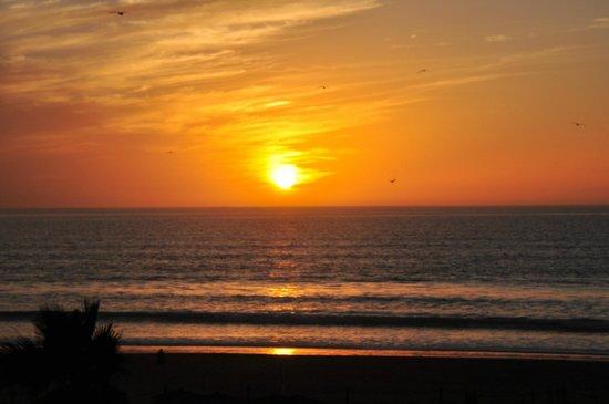 Hotel Riu Palace Tikida Agadir : Fantastic sunset from Beach