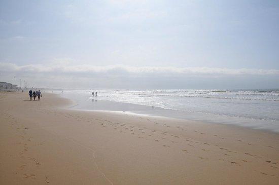 Hotel Riu Palace Tikida Agadir : Golden sands of Agadir beach