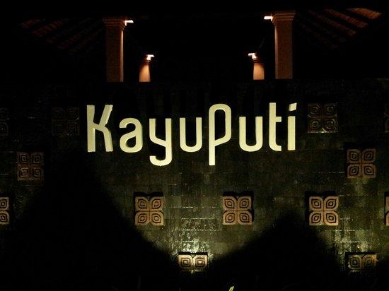 Kayuputi at St. Regis Bali Resort: Kayuputi