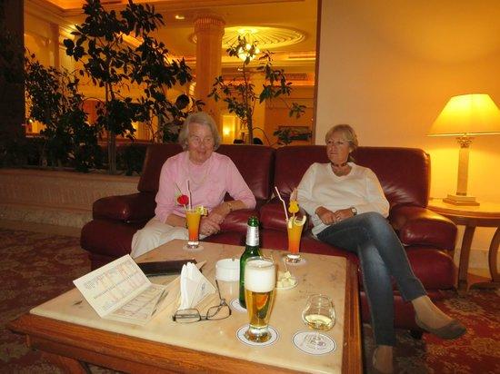 Mahdia Palace Thalasso : Sehr gemütlicher und stilvoller Bar-Bereich