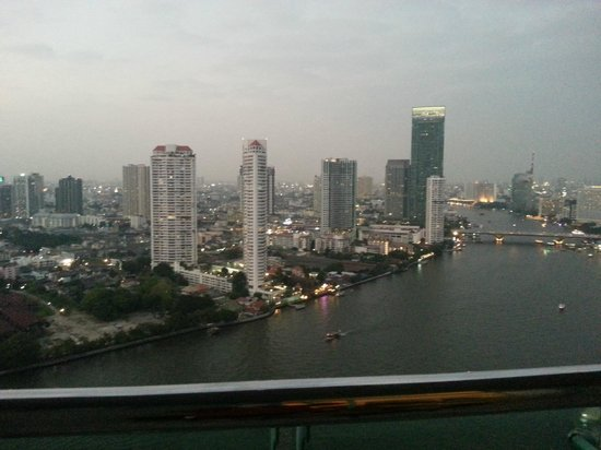 Chatrium Hotel Riverside Bangkok: from our room 32nd floor