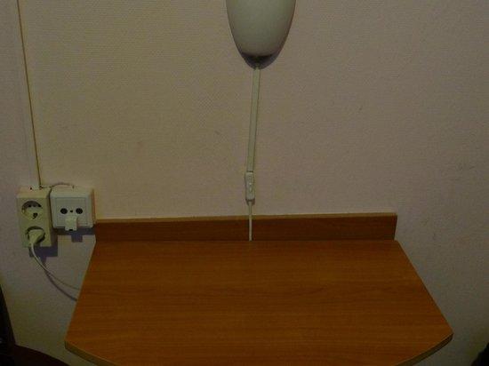 Mozart Hotel: no sirve la lampara
