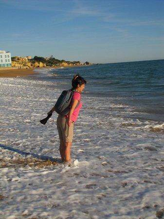 Varandas de Albufeira: Albufeira beach walk