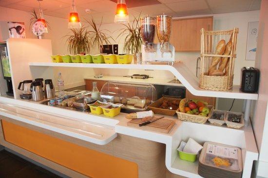 Ibis Budget Nantes Rezé Aeroport : Petit Déjeuner Buffet à volonté