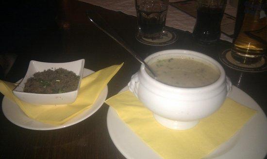 Glockl Brau: Mushroom soup