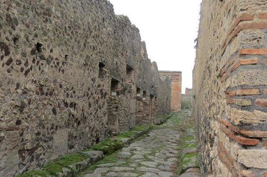 Pompeii - Parco Archeologico: Preservação das ruas e casas