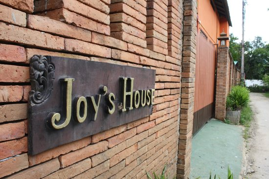 Front gate of Joy's House