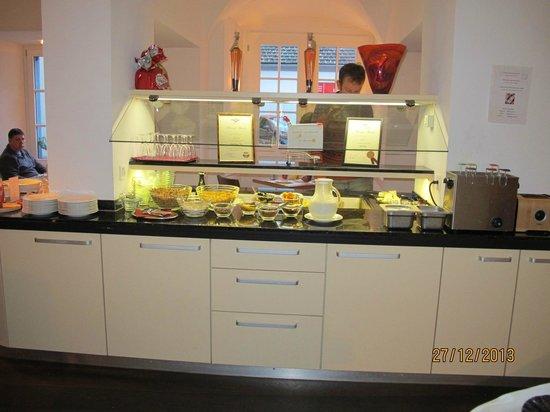 Ambiente Hotel Freieck : Breakfast buffet