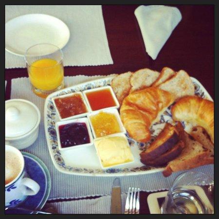 Trigg Retreat Bed & Breakfast: Desayuno Continental
