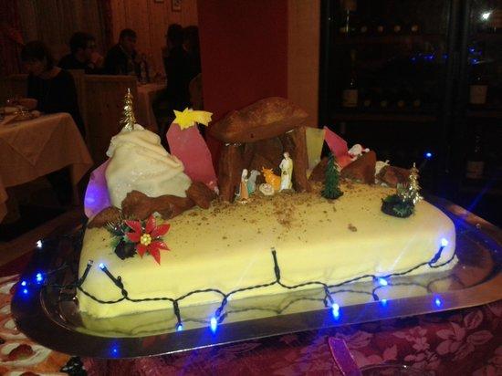 Hotel Mezdì: uno dei dessert di Natale