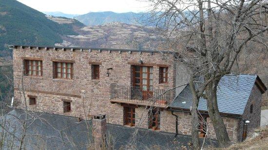 Borda El Vilar: fachada casa