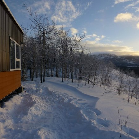 Annie Lake Cabins: Cabin & Its Surroundings
