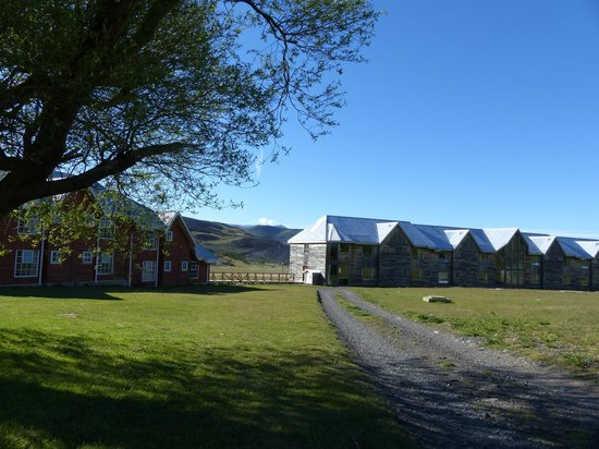 Las Torres Patagonia: View of the newest rooms (at time of writing)