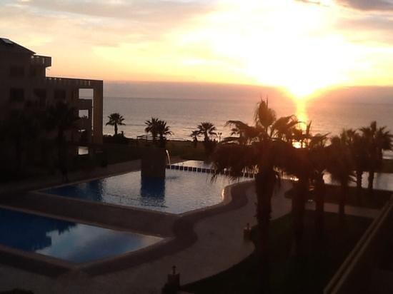 Capital Coast Resort & Spa: sunset veiw from suite 209-1