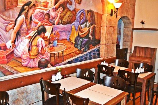 Alyon Hotel: Kahvaltı Salonu