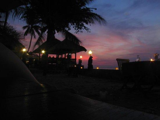 Puri Mas Boutique Resort & Spa: Repas du soir