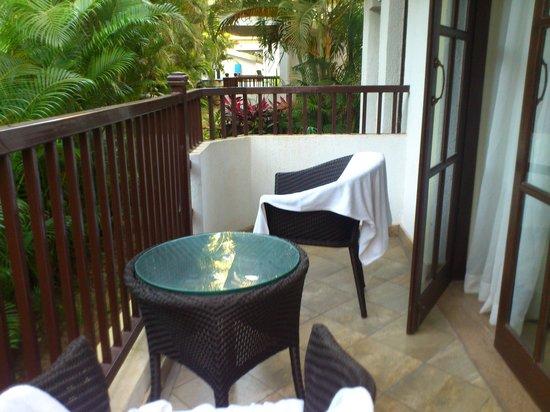Sonesta Inns Resort: The suite balcony