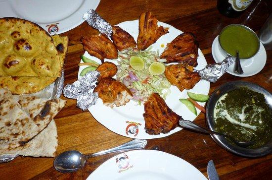 Gallops: tandoori chicken