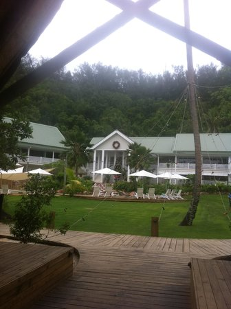 Malolo Island Resort: Main building