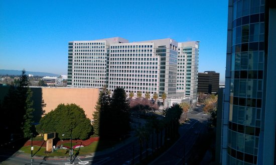 Hilton San Jose: View from room