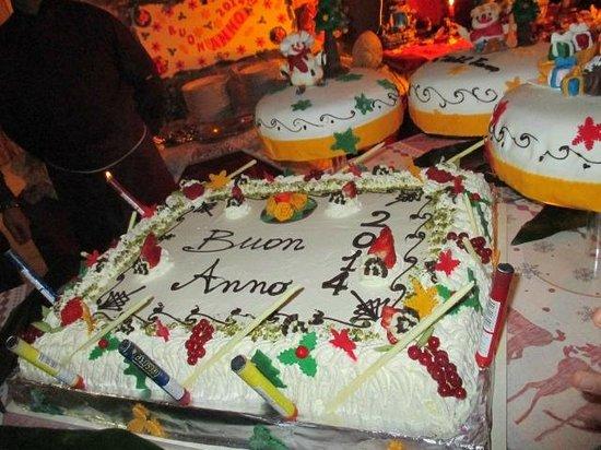 Hotel Franco: Torta di capodanno