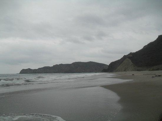Finca Punta Ayampe: la playa